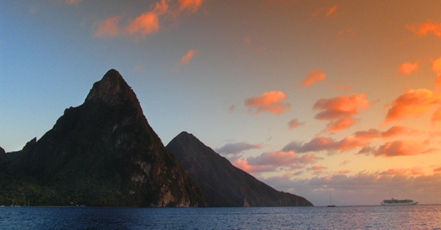 "Simply Beautiful Saint Lucia- ""Helen of the West Indies"""