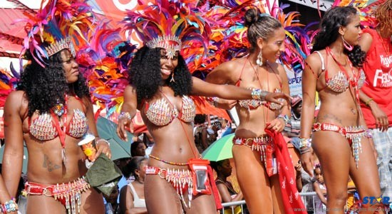 Carnival Comes to Saint Lucia